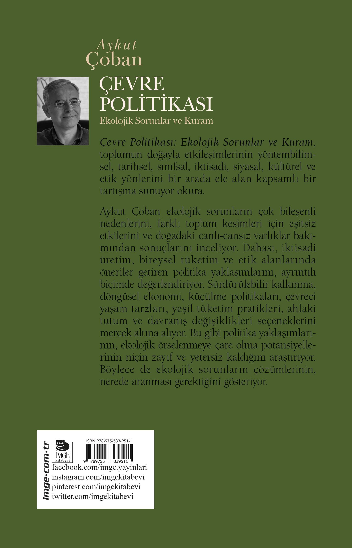 Çevre Politikası; Ekolojik Sorunlar ve Kuram